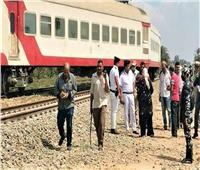 بعد خروج ٤ عربات عن القطار بالزقازيق..إخلاء سبيل سائق القطار وعامل التحويلة