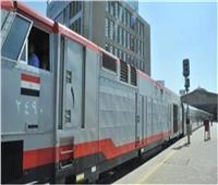 حركة القطارات  90 دقيقة متوسط التأخيرات بمحافظات الصعيد اليوم