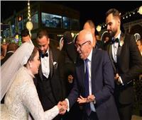 أول تصريح من عريس بورسعيد بعد حضور المحافظ لحفل زفافه