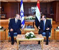 الرئيس السيسي يؤكد ضرورة الحفاظ على التهدئة بين الفلسطينيين والإسرائيليين