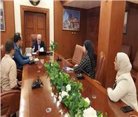 محافظ بورسعيد يستقبل الإدارة الجديدة لمستشفى الصدر