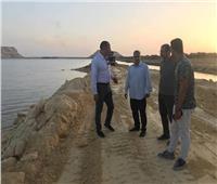 البدء في تدعيم جسر مصرف «دهيبة» بواحة سيوة