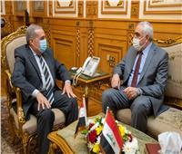 سفير العراقيبحث سبل التعاون الصناعي مع وزير الإنتاج الحربي