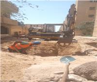 مياه أسيوط تستجيب لشكاوى أهالي المنطقة الصناعية بديروط
