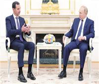 «الأسد» من موسكو: هناك دول تدعم الإرهاب لتعطيل العملية السياسية