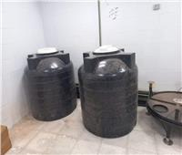 الاستعداد لتشغيل وحدة الغسيل الكلوي بمستشفى السلوم المركزي