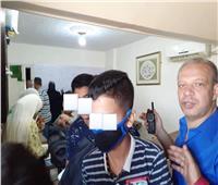 ضبط أكبر سنتر للدروس الخصوصية ببورسعيد  صور