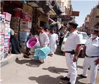 تحرير 75 محضر و46 إزالة إدارية فى حملة مكبرة لمرافق الأقصر