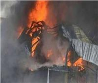 التحريات:  انفجار جهاز التكييف سبب حريق عقار المطرية