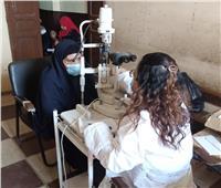 الكشف وتوفير العلاج لـ 337 مواطناً في قافلة طبية ببني سويف