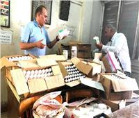 ضبط أدوية بيطرية منتهية الصلاحية في مصنع ومركزين للبيع بالشرقية