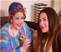 دنيا سمير غانم تدعو لدلال عبد العزيز: «40 يومًا على فراقك يا أمي»
