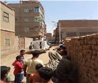 نقل جثث ضحايا «سفاح قنا» إلى مشرحة مستشفى الجامعة