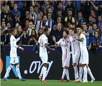 الشوط الأول| التعادل يسيطر على مباراة باريس سان جيرمان وكلوب بروج