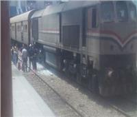 مصرع عامل صدمه قطار بمزلقان عدلي بـ«القليوبية»