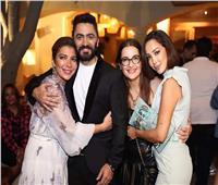كواليس أول ظهور لتامر حسني وبسمة بوسيل بعد شائعة انفصالهما