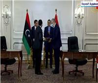 توقيع مذكرات فى مجال الزراعة والنقل والصناعة بين مصر وليبيا