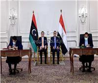 «اللجنة العليا المصرية الليبية» توقع ١٤ مذكرة تفاهم مشترك و ٦ عقود تنفيذية.. صور