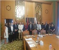 مساعد وزير الخارجية لحقوق الإنسان يستقبل وفد الكنيسة الرسولية بمصر