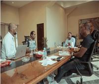الخطيب يعقد جلسة مع خالد بيبو وبروكيش