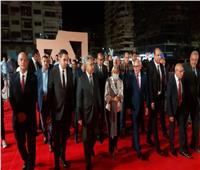 محافظ بورسعيد يفتتح ساحة مصر بمدخل قناة السويس