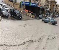 أمطار غزيرة وسيول في المناطق الجبلية شمالي لبنان