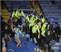 اشتباكات عنيفة بين جماهير ليستر ونابولي في الدوري الأوروبي| فيديو