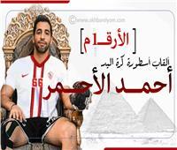 إنفوجراف| بالأرقام.. ألقاب أسطورة كرة اليد أحمد الأحمر