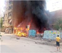 الحماية المدنية تنجح في إخماد حريق ضخم بالمنيب | فيديو