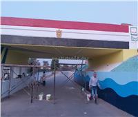 محافظ أسيوط يكرم معلمي وطلاب التعليم الفني لدورهم في تجميل الشوارع والميادين