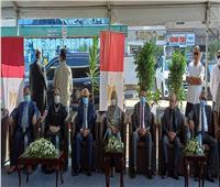 وزراء المالية والصناعة يفتتحان معرض «صنع في بورسعيد»