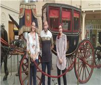 متحف المركبات الملكية يستقبل أحد الزوار من ذوي الهمم| صور