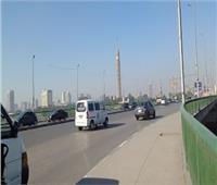 الحالة المرورية.. انتظام حركة السيارات بالدائري ومحاور القاهرة والجيزة