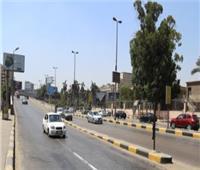 انتشار أمني وسيولة مرورية بشوارع وميادين الجيزة