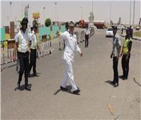 خدمات مرورية مكثفة لرفع كفاءة الطريق الصحراوي الشرقي ونفق الزعفرانة