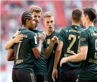 الشوط الأول   بايرن ميونخ يتقدم برباعية أمام بوخوم في الدوري الألماني