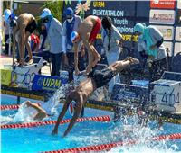 روسيا تتصدر منافسات السباحة لتتابع الشباب ببطولة العالم للخماسي الحديث