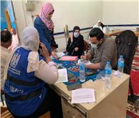 بدء التطعيم بلقاح «كورونا» بمركز شباب منوف|صور