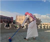 حملة لتنظيف «أسطح المساجد» استعدادا لموسم الشتاء بمطروح