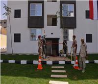افتتاح أعمال تطوير المرحلة الثانية بعمارات حي الزهور بمطروح