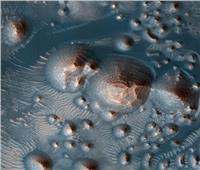فيديو| «ناسا»: منطقة المريخ بها آلاف الانفجارات البركانية القديمة