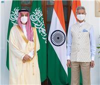 وزير الخارجية السعودى يبحث تعزيز التعاون مع نظيره الهندى