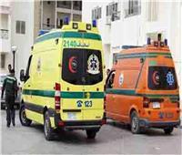 إصابة 3 اشخاص في حادث تصادم سيارة ملاكي وتروسيكل بأسيوط