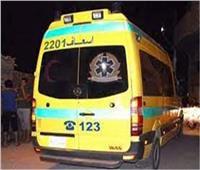 إصابة 6 أشخاص في انقلاب سيارة ربع نقل بأطفيح
