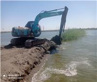 بالصور.. إزالة مزارع سمكية مخالفة على مساحة ١١٥ فدانا جنوب بورسعيد