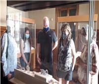 عضو الاتحاد الدولي للخماسي الحديث يزور متحف المجوهرات الملكية