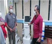 صحه مطروح تتابع تطبيق سياسات مكافحةالعدوى بالمستشفيات