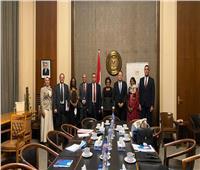 وفد من الخارجية الجابونية يزور الوكالة المصرية للشراكة من أجل التنمية