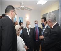 إفتتاح مجمع العيادات التخصصية الجديدة بمستشفى النساء والتوليد بقصر العيني