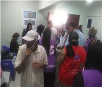إقبال كبير على مراكز التطعيم الجديدة ببورسعيد  لتلقى لقاحكورونا